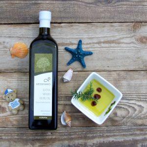 Grecka oliwa extra virgin 1l Messiniako Kalamata, Greckie Smaki, Oliwowo