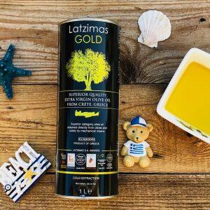 oliwa extra virgin 1l Latzimas Gold Oliwowo