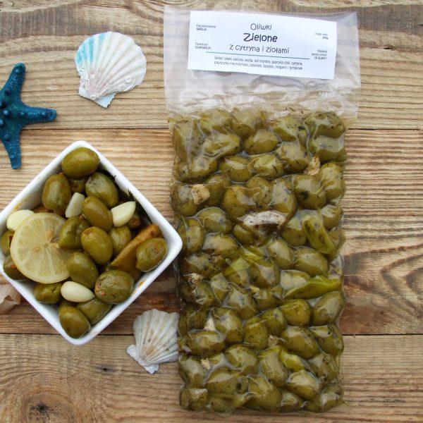oliwki chalkidiki w ziołach, Oliwowo