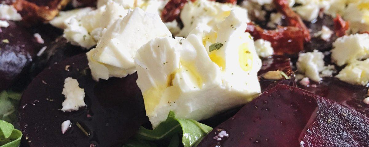 buraczki pieczone z serem feta Oliwowo