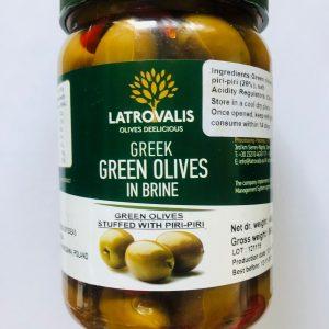 zielone oliwki z piri piri OLIWOWO