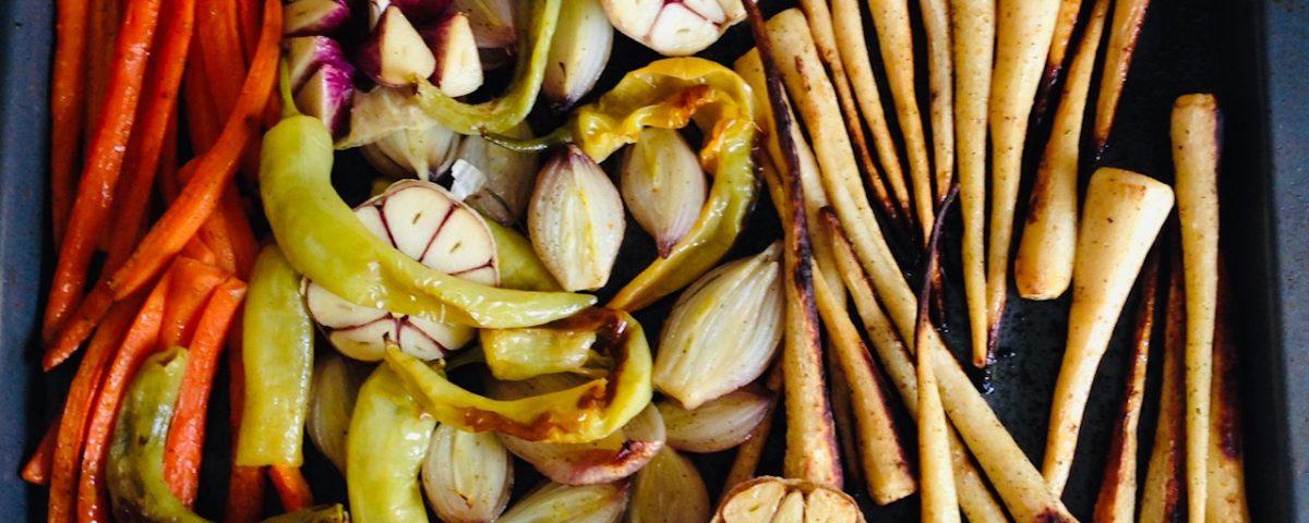 pieczone warzywa w oliwie Oliwowo