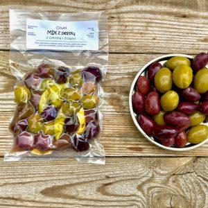 mix oliwek amfissa w ziołach Oliwowo